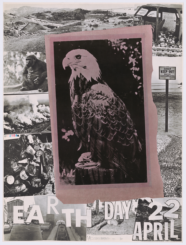 Robert Rauschenberg's iconic Earth Day Poster