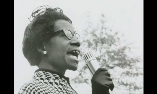 Shirley Chisholm, shortly after her election to Congress in 1968. Local Identifier: 306-PSC-68-3539 (NAID: 7452354)